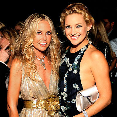 Rachel Zoe and Kate Hudson, The Rachel Zoe Project launch party, New York City, Fashion Week