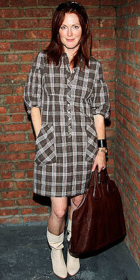 Julianne Moore, Generra, Plaid, The Look