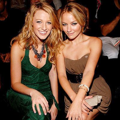 Blake Lively, Becki Newton, Rosario Dawson, New York, Fashion Week, Day 3, Miss Sixty, Last Season: Stars at Spring 2009 Fashion Week