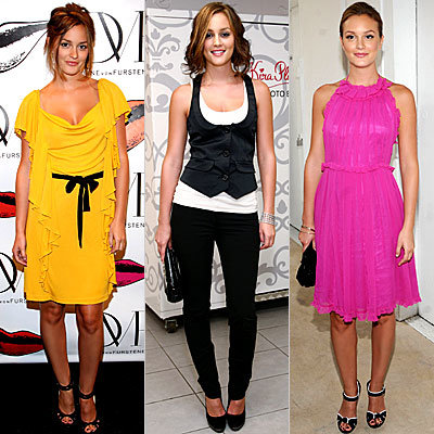 Leighton Meester, Fashion Week, It Girl