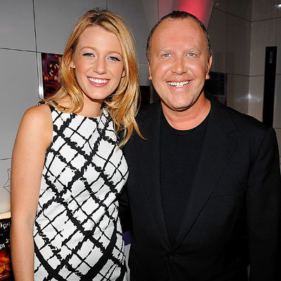 Blake Lively, Michael Kors, NY Fashion Week Spring 2009 Day 6