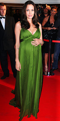 Angelina Jolie, Max Azria Atelier, Baby Bumps, Best of 2008