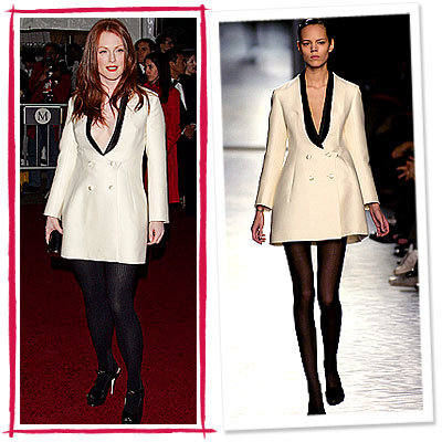 Julianne Moore, YSL, Stars Love