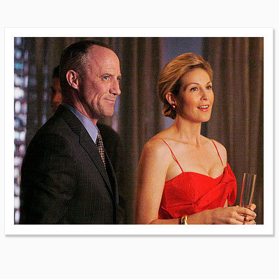 Bart Bass and Lily van der Woodsen, Gossip Girl Housewarming Party, New York City