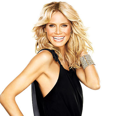 Heidi Klum - December 2008 InStyle Cover - Celebrity Exclusives
