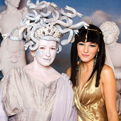 Martha Stewart as Medusa, Blake Lively as Cleopatra, Our Favorite Star Halloween Costumes