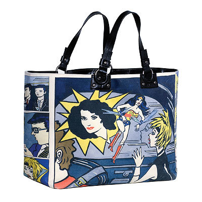 HOLIDAY GIFT GUIDE, GIFTS THAT GIVE BACK, Diane von Furstenberg Wonder Woman Tote Bag