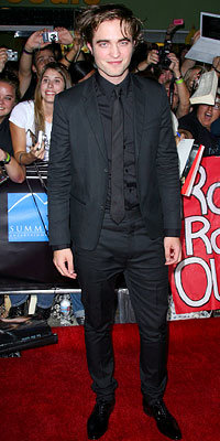 Robert Pattinson, Marc Jacobs, Twilight Premiere Style