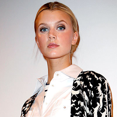 Tory Burch, Fashion Week, Daily Beauty Flash, Chiseled cheekbones, Brown Cosmetics Tinted Lip Balm in Baby Pink