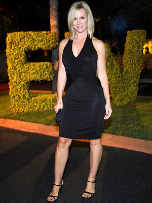 The Pre-Emmy Party Circuit, Jennie Garth, 2008 Emmy Awards