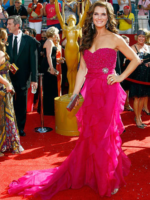 Brooke Shields, 60th Primetime Emmy Awards, Arrivals