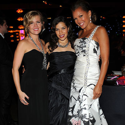 Emmys After-parties, Governor's Ball, Ashley Jensen, America Ferrera, Vanessa Williams in Kevan Hall, 2008 Emmy Awards, Fashion