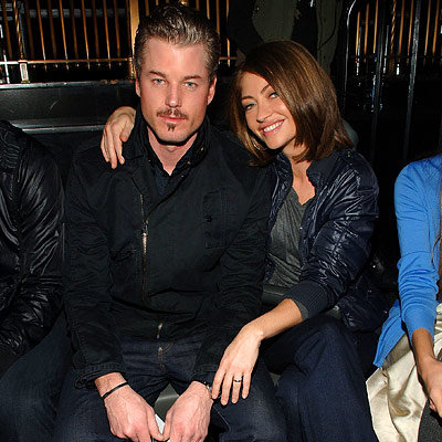 Eric Dane, Rebecca Gayheart, G-Star, Fashion Week Day Five