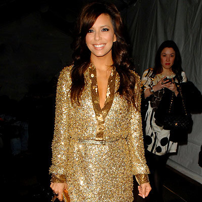 Eva Longoria Parker, Michael Kors, Fashion Week Day Six