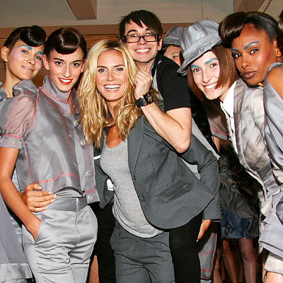 Heidi Klum, Christian Siriano, Fashion Week, Day 7