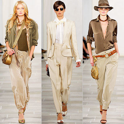 Ralph Lauren, Runway Report, Spring 2009, New York Fashion Week