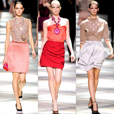 Lanvin, Paris Fashion Week, Spring 2009, Runway Report