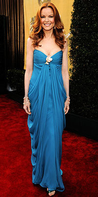 Marcia Cross, SAG Awards, Fashion Trends