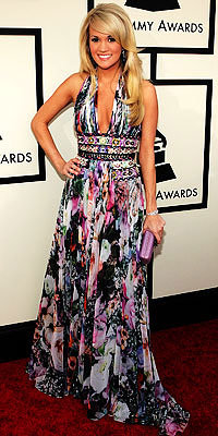 Carrie Underwood, Zuhair Murad, Grammys, Before He Cheats, celebrity fashion, celebrity style