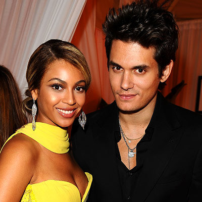 Beyonce, John Mayer, Sony/BMG Grammy After-Party, 2008 Grammys
