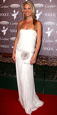 Ali Larter, J. Mendel, The Look, blouson dresses, celebrity trends, celebrity style