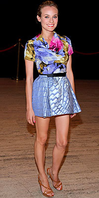 Diane Kruger, Balenciaga, Full-Skirted Minis, The Look