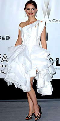 Natalie Portman, Givenchy, Daring Dresses, Best of 2008