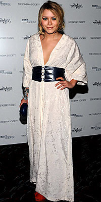 Mary-Kate Olsen, caftans, Lanvin, The Look, celebrity trends