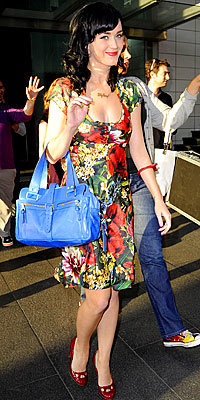 Stars' Best Bags, Katy Perry, Mulberry