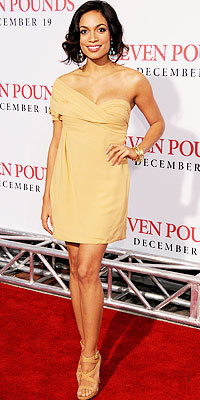 Rosario Dawson in Bottega Veneta and Ippolita