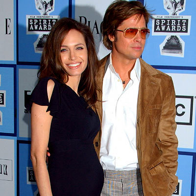 Angelina Jolie, Brad Pitt, Film Independent's Spirit Awards, Los Angeles