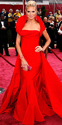 prom dress; cheap dress; heidi klum; oscar dress; formal gown