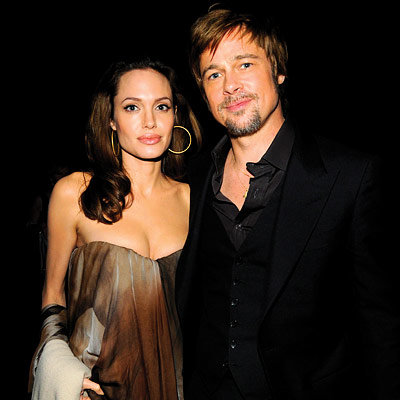 Brad Pitt, Angelina Jolie, 2008 SAG Awards