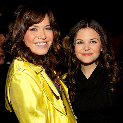 Mandy Moore, Ginnifer Goodwin, Herve Leger, Fashion Week Day Three