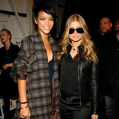 Rihanna, Fergie, Max Azria, Fashion Week Day Four