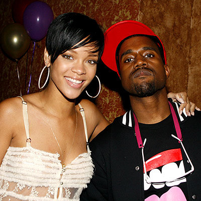 Rihanna, Kanye West, Surprise birthday party for Rihanna, Los Angeles
