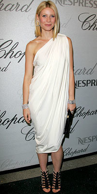 Gwyneth Paltrow in Lanvin, Chopard Trophy Presentation, 2008 Cannes Film Festival, Fashion