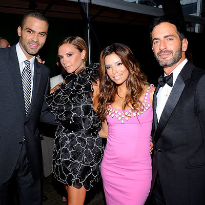 Tony Parker, Victoria Beckham, Eva Longoria Parker, Marc Jacobs, 2008 CFDA Awards, New York City, Fashion