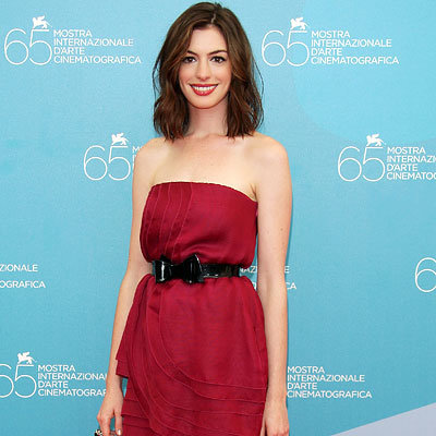 Anne Hathaway, Photo call for Rachel Getting Married, 2008 Venice Film Festival