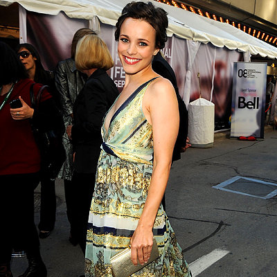 Rachel McAdams, Premiere of The Lucky Ones, Toronto Red Carpet Report, 2008 Toronto Film Festival