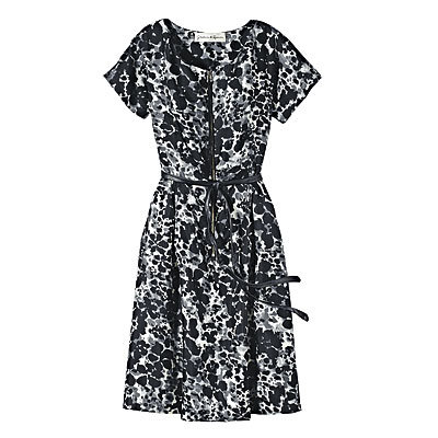 5 Key Items to Buy Now, Print Dresses, Graham & Spencer Silk