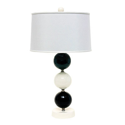 Lighten Up, Tuxedo Ellipsis lamp, green goods, stars go green