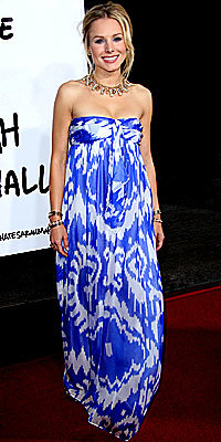 Kristen Bell, Jenni Kayne, ikat, the look, star style