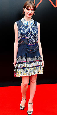 Emily Mortimer, Chloe, The Look, Mixed Florals