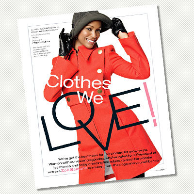 15 Years of InStyle - Star Q&A: Favorite InStyle Appearance - Zoe Saldana