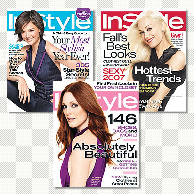 15 Years of InStyle - The Colors of InStyle