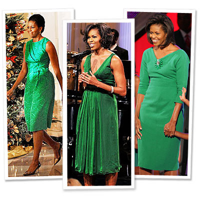 We Love Michelle Obama's Rainbow Wardrobe!