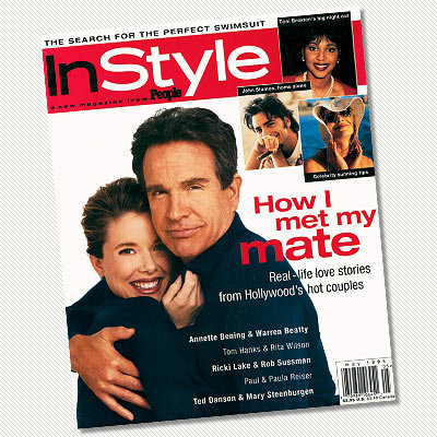May 1995 - Annette Benning and Warren Beatty