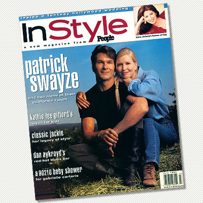July 1994 - Patrick Swayze and Lisa Niemi