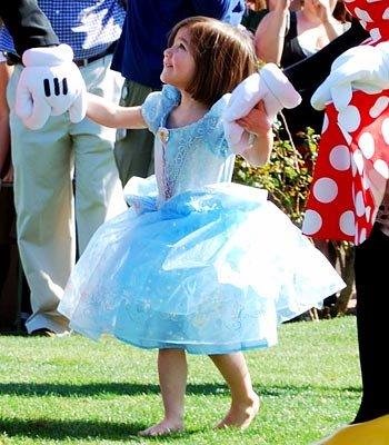 Suri Cruise, Disney Princess